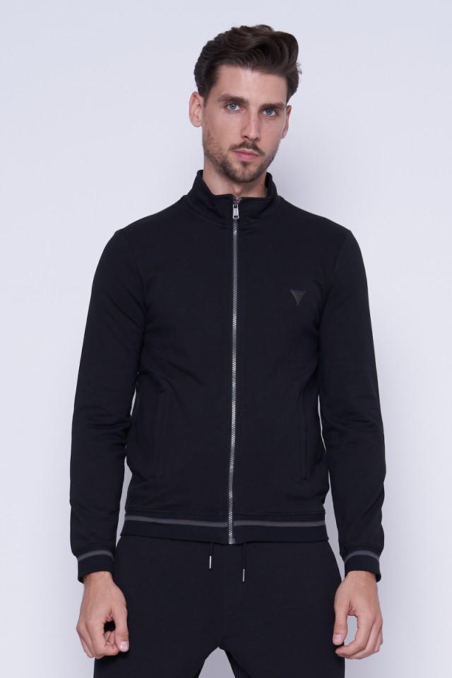 Bluza rozpinana czarna GUESS