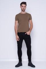 T-shirt zielony ORIGINAL BASIC 3 PEPE JEANS