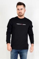 Longsleeve TJM SMALL TEXT BLACK TOMMY JEANS