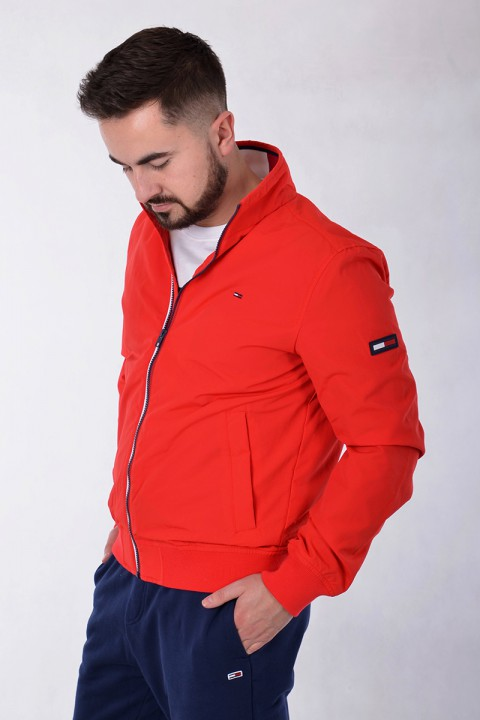 f34511634facb Kurtka TJM ESSENTIAL CASUAL BOMBER RED TOMMY JEANS ...