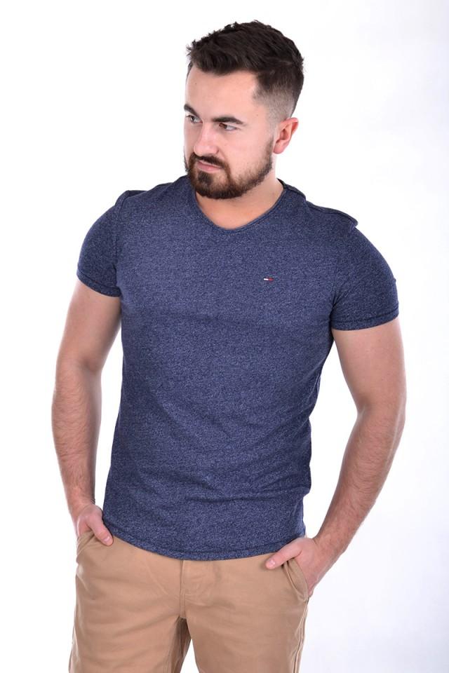 T-shirt ESSENTIAL JASPE TEE DEEP BLUE TOMMY JEANS