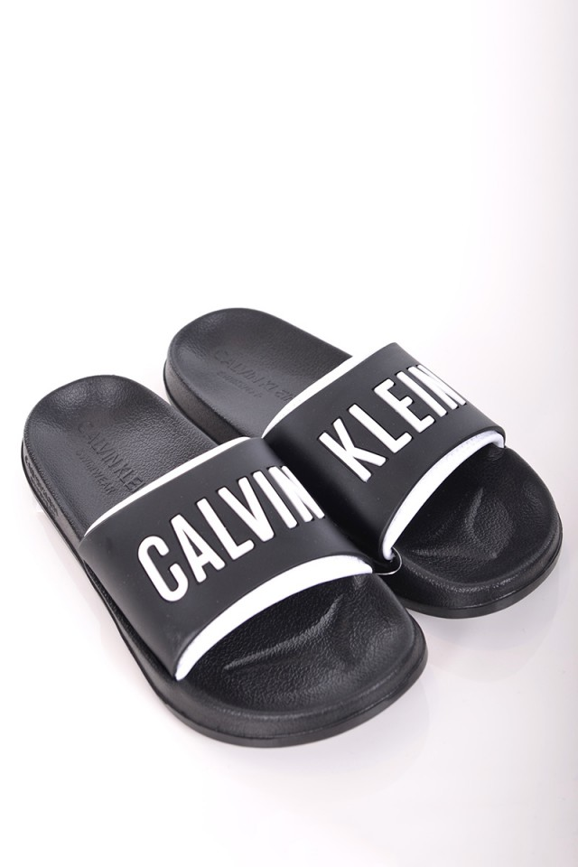 Klapki SLIDE BLACK CALVIN KLEIN