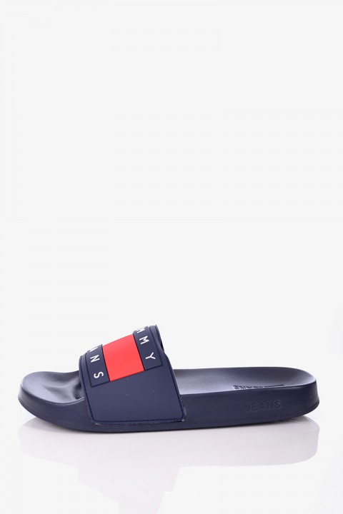 3f5453ab61be9 Klapki SLIDE BLACK MEN CALVIN KLEIN. 159,00 zł. Klapki FLAG POOL SLIDE  MIDNIGHT TOMMY JEANS ...