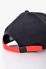 Czapka LOGO CAP BLACK/RED CALVIN KLEIN