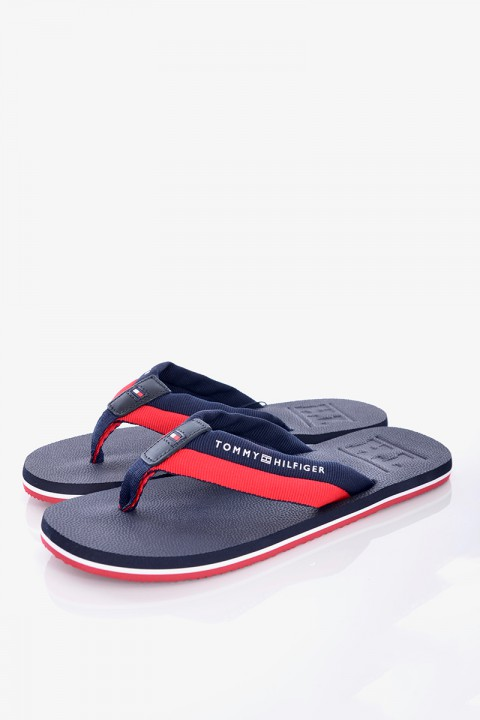 358be4b643659 Japonki EMBOSSED TH BEACH SANDAL TOMMY HILFIGER ...