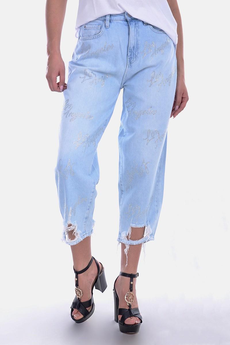 0db3172ae432d GUESS Spodnie jeansowe BLEACH GUESS - Butik Online MAICON