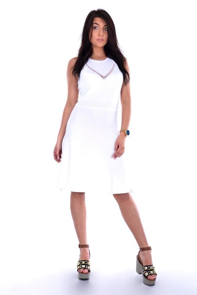 Sukienka SHEAT DRESS STETCH CREPE REGULAR TRUSSARDI JEANS