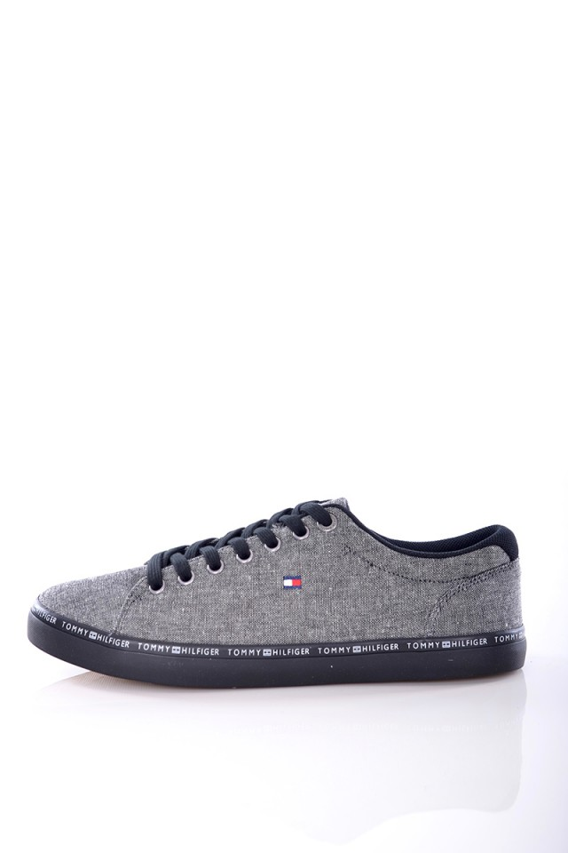 Trampki ESSENTIAL CRAFT GREY TOMMY HILFIGER