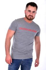 T-shirt INSTITUTIONAL GREY CALVIN KLEIN JEANS