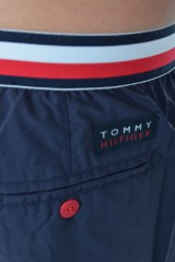 Szorty MEDIUM WAISTBAND NAVY BLAZER TOMMY HILFIGER