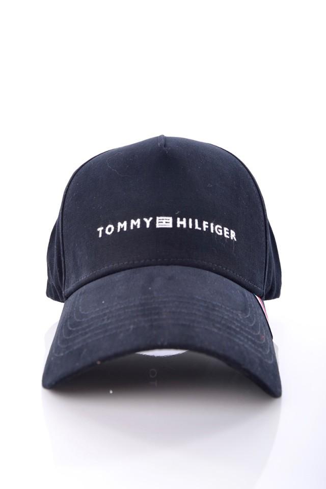 Czapka UPTOWN CAP BLACK TOMMY HILFIGER