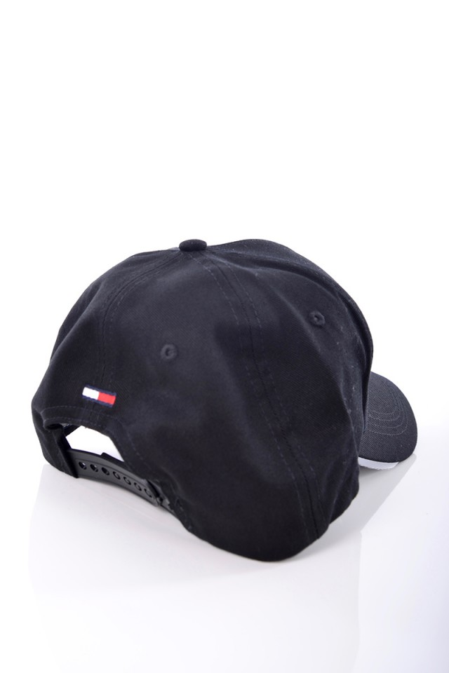 Czapka TJM LOGO CAP BLACK TOMMY JEANS