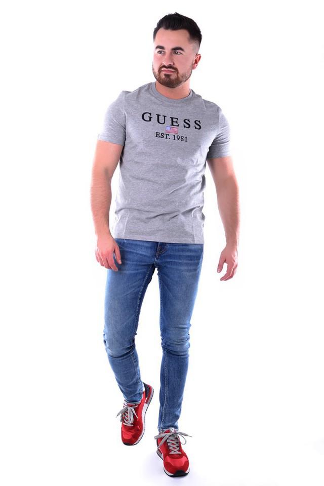 T-shirt BELONG TO GREY GUESS