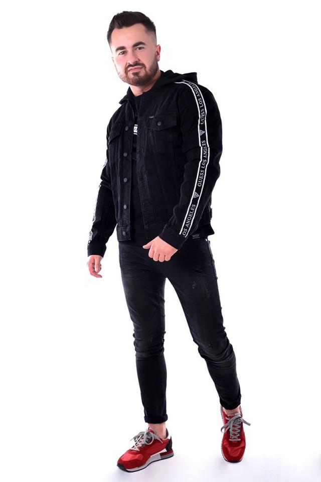 Kurtka jeansowa ALLEN TAPE LOGO GUESS