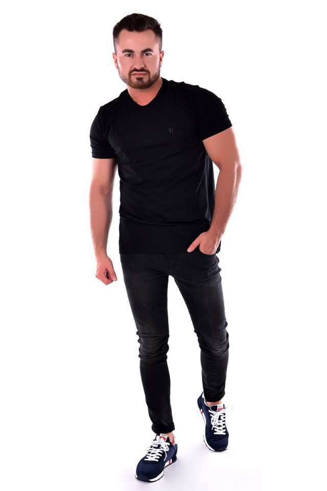 T-shirt JERSEY STRETCH CLASSIC LG TRUSSARDI JEANS