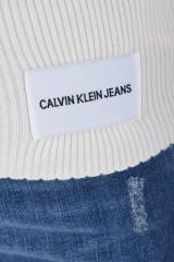 Sweter WOOL BLEND RIB-KNIT LIGHT CALVIN KLEIN JEANS