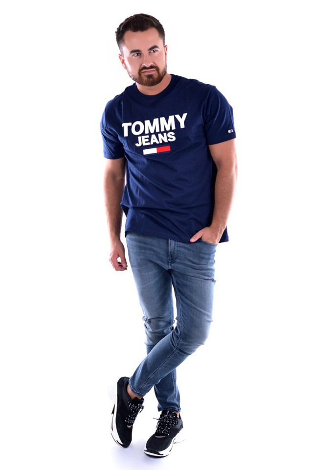 T-shirt TJM NOVELTY CORP LOGO TEE TOMMY JEANS