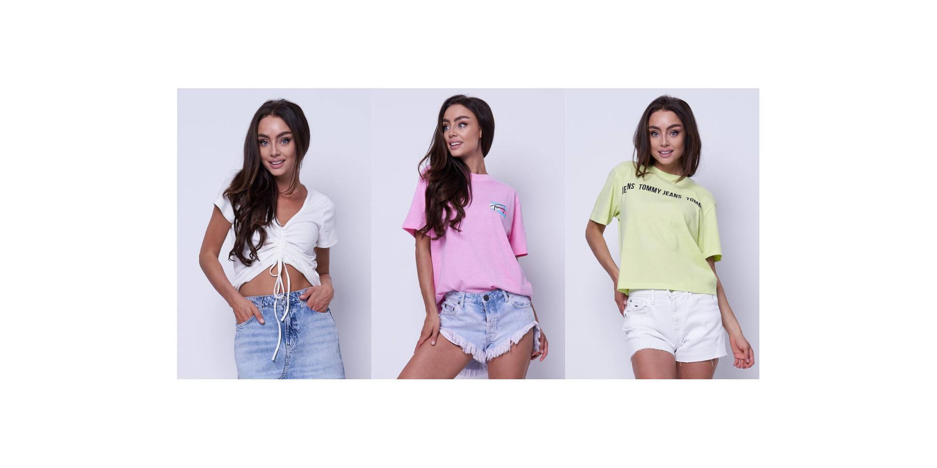 Modne t-shirty damskie na wiosna/lato 2021