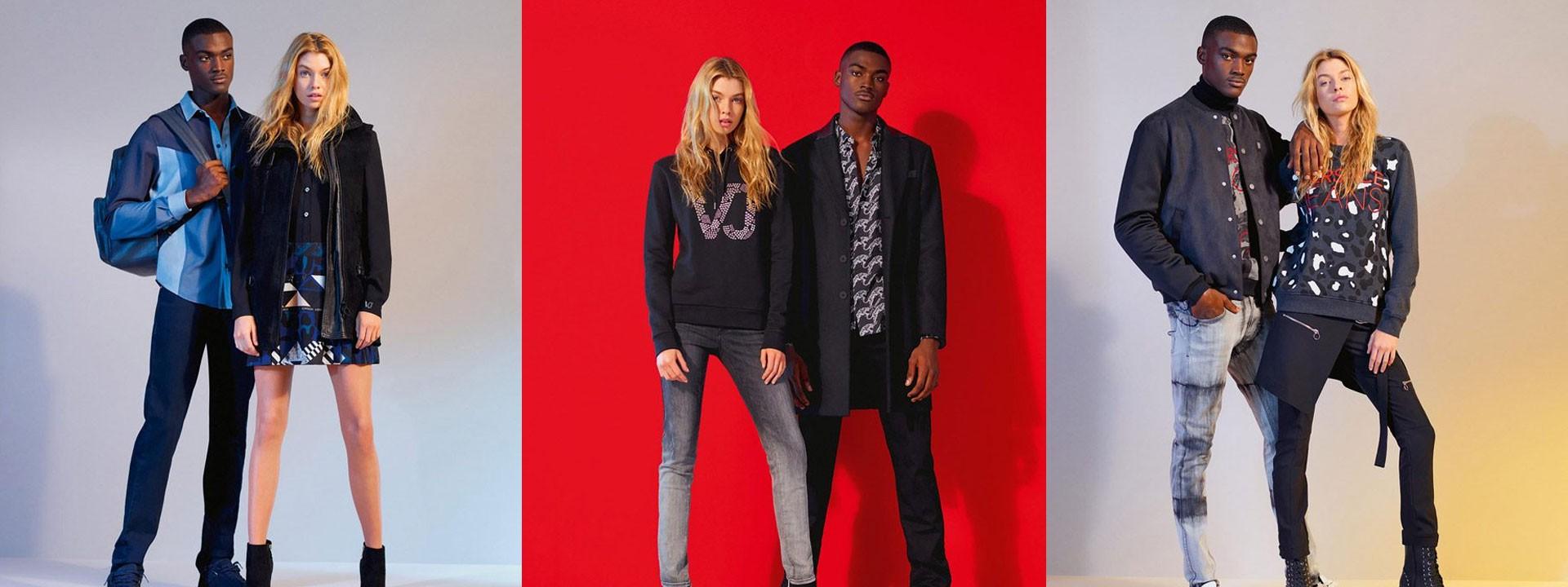 05b071020d Versace Jeans  odzież damska i męska. Ekskluzywne buty i torebki ...